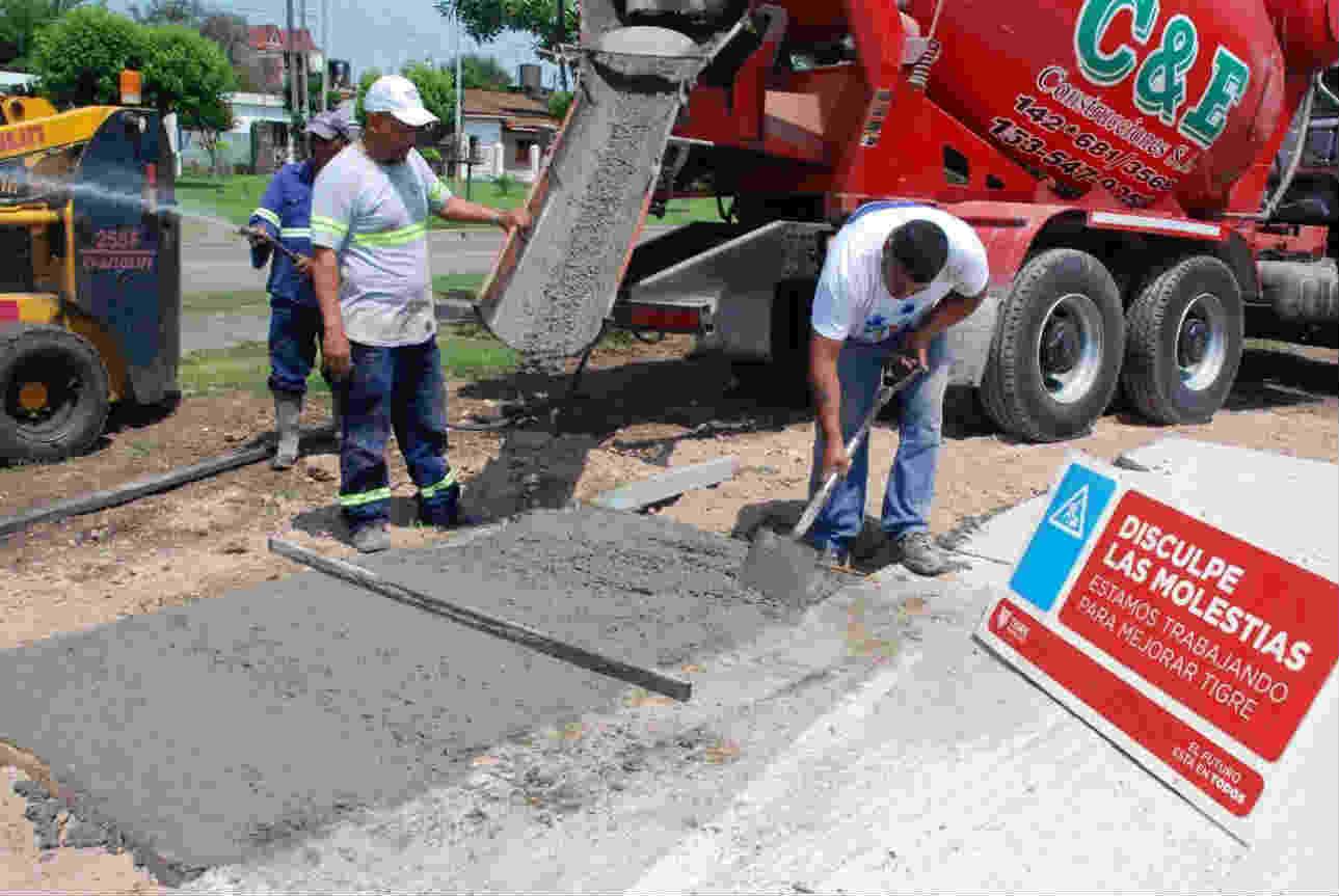 Tigre construye nuevas sendas aeróbicas en El Talar y Don Torcuato