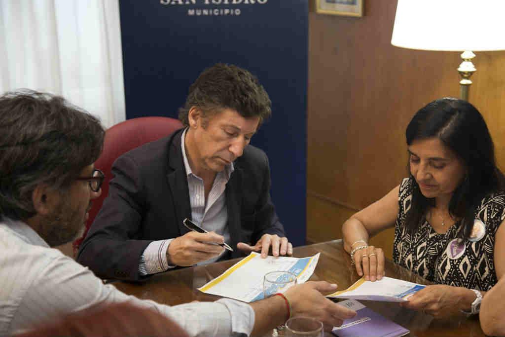 Posse y Garavano firmaron un convenio para difundir los derechos de víctimas de violencia