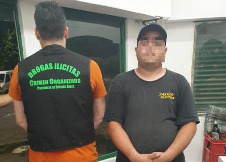 Vicente López: Detuvieron a la peligrosa narcobanda de pepino y el oso peluche