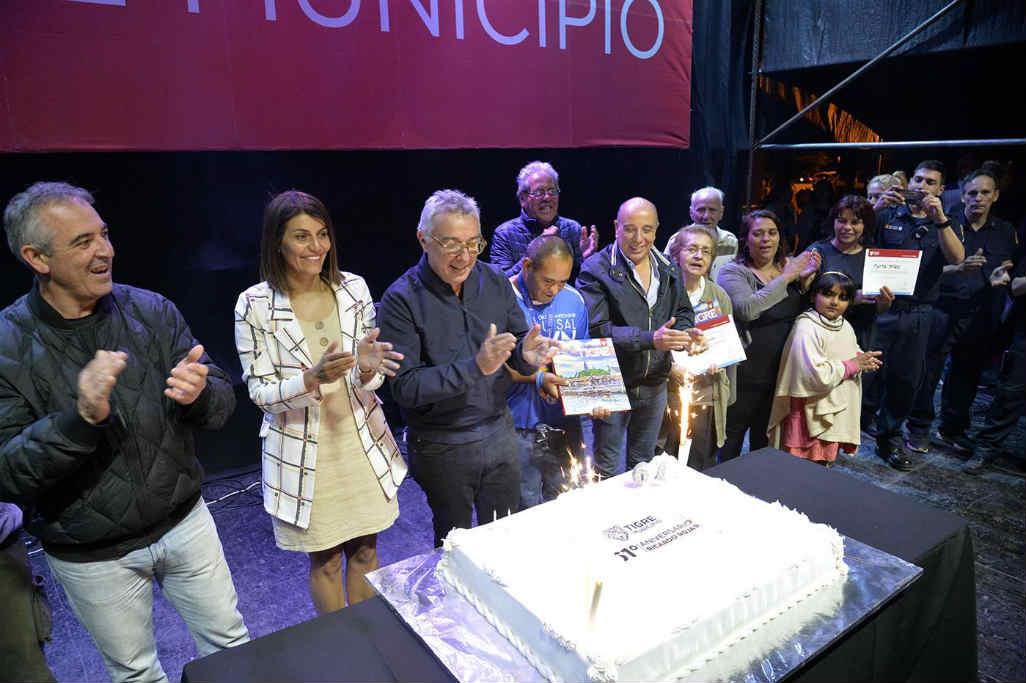 Ricardo Rojas celebró su 61 aniversario