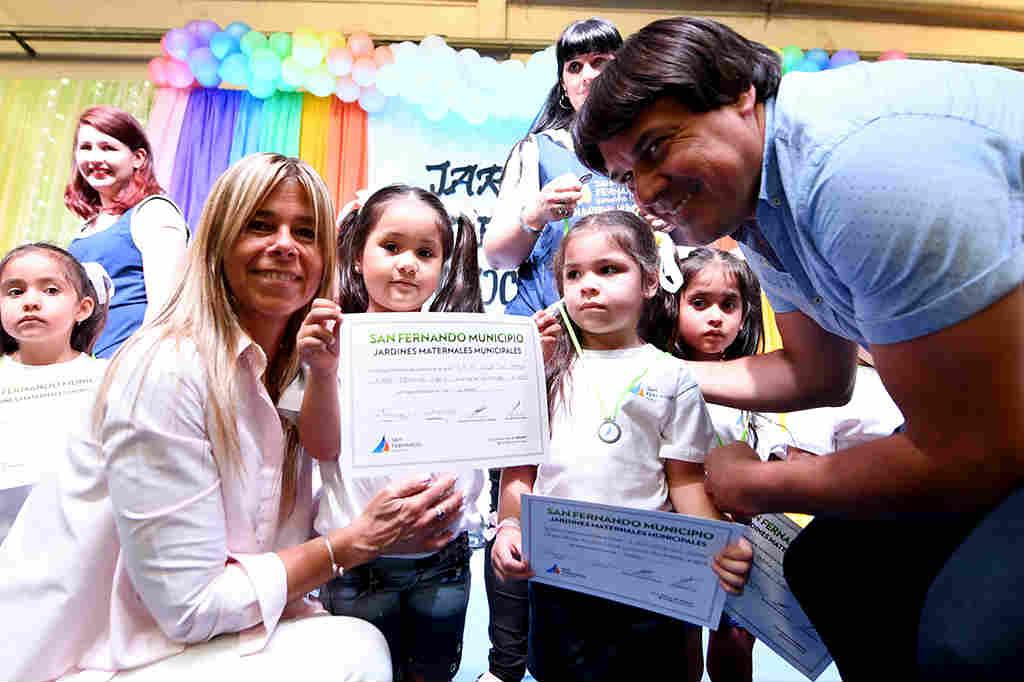 Jardines Maternales Municipales de San Fernando tuvieron su fiesta de egresados