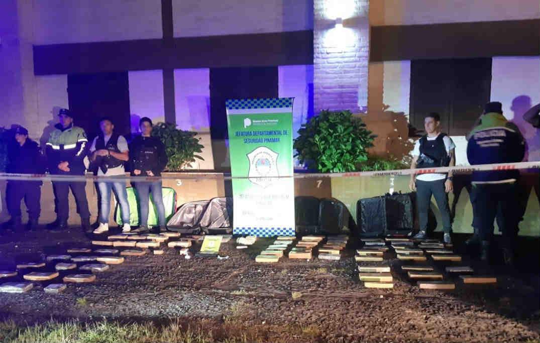 Secuestran más de 80 kilos de marihuana en Pinamar