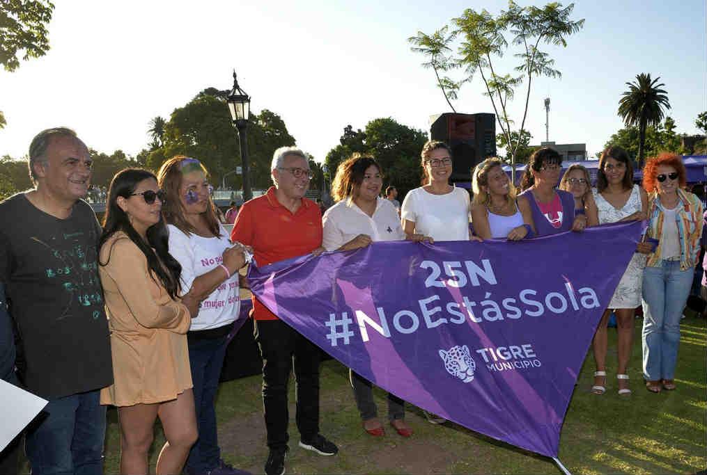 Tigre conmemoró el Día Internacional de la No Violencia contra las Mujeres