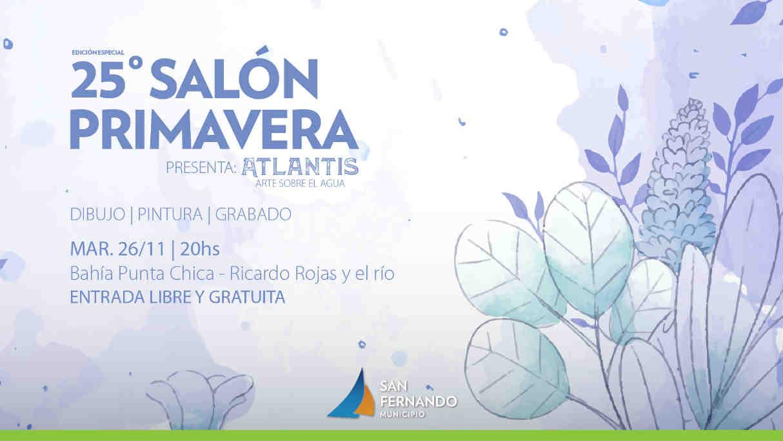 """25 edición del Salón Primavera de San Fernando con """"Atlantis: Arte sobre el agua"""""""