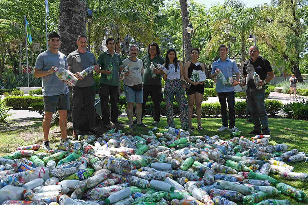 San Fernando y Ecowork siguen desarrollando tareas de reciclaje