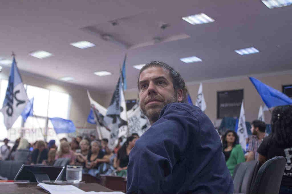 """Javier Parbst: """"Llegamos hace un año para llenar de poder popular el Concejo Deliberante de Tigre"""""""