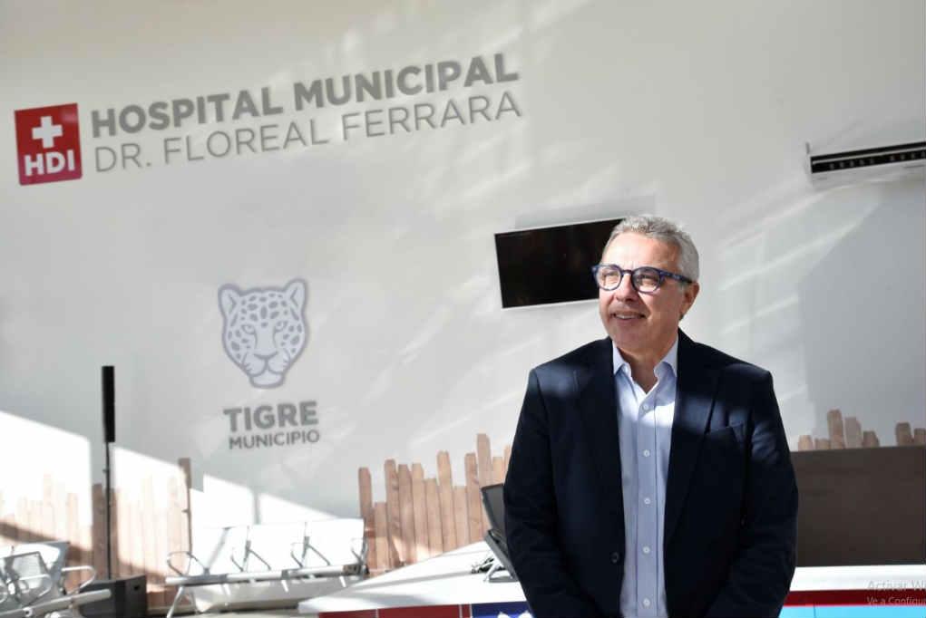 """Julio Zamora: """"Vamos a hacer realidad el sueño del Hospital Municipal de Adultos para los vecinos de Tigre"""""""