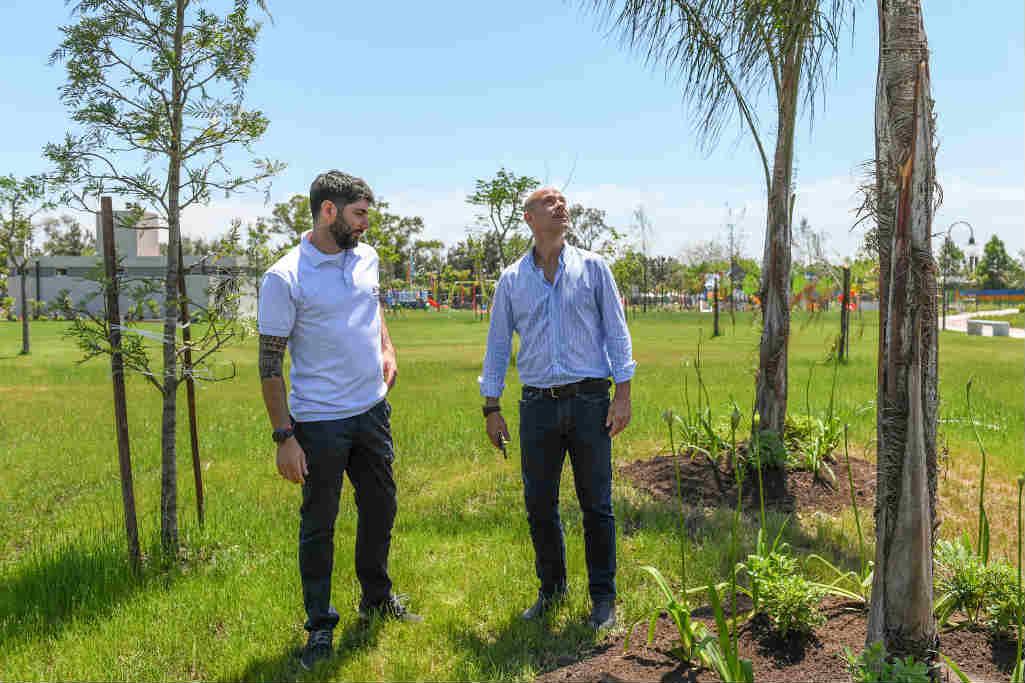 La ampliación del Parque del Bicentenario de San Fernando tendrá más de 20 especies arbóreas
