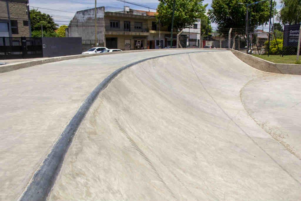 Nueva plaza y pista de skate en Beccar