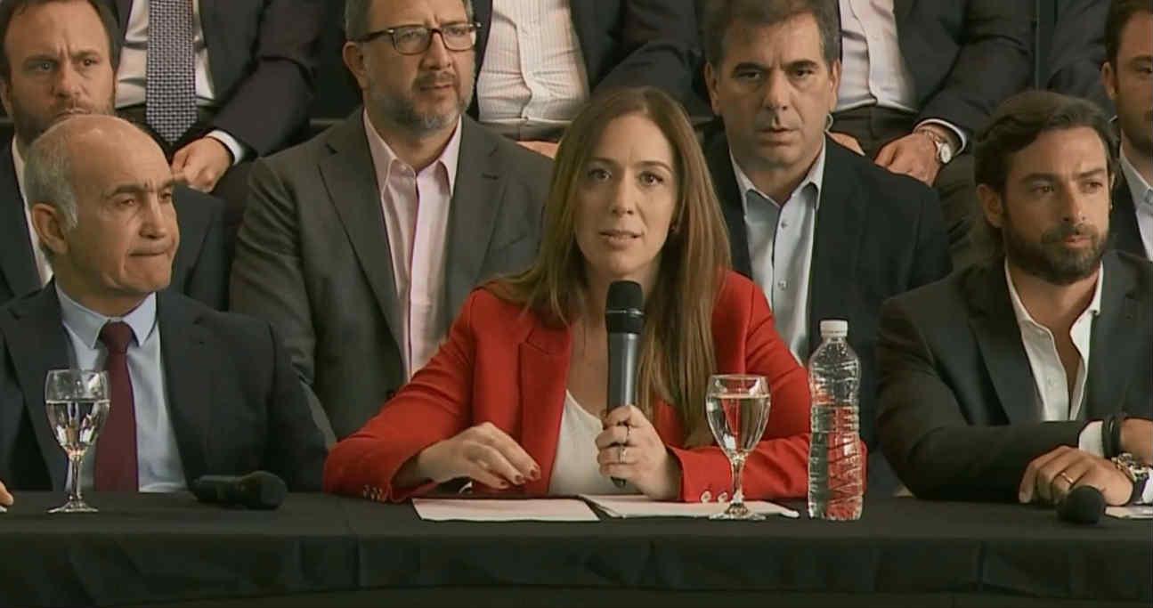Vidal realizó un balance de su gestión con una conferencia en Vicente López