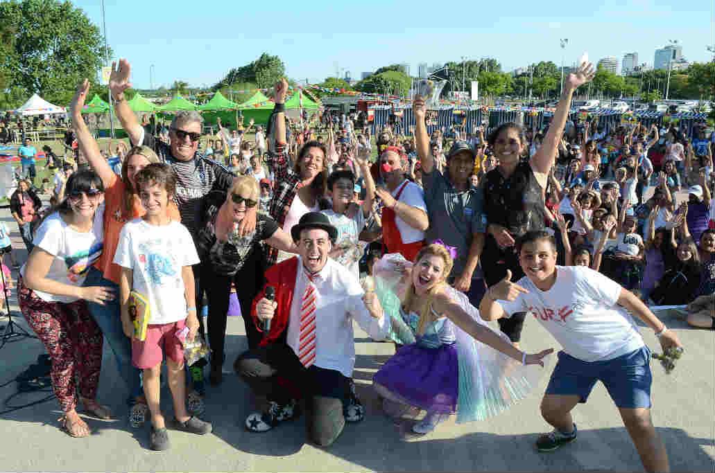 Vicente López: Los niños celebraron sus derechos