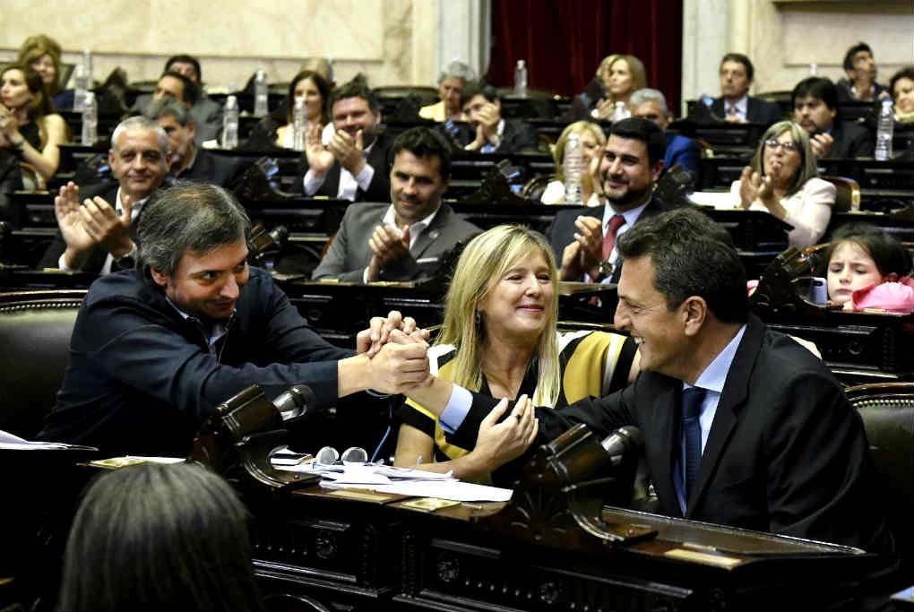 """Sergio Massa llamó a """"caminar la Argentina del acuerdo"""" tras asumir la Presidencia de la Cámara de Diputados"""
