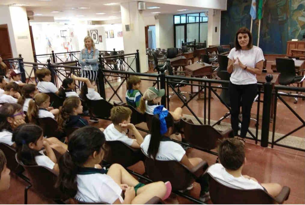 El HCD de Tigre recibió a más alumnos del distrito