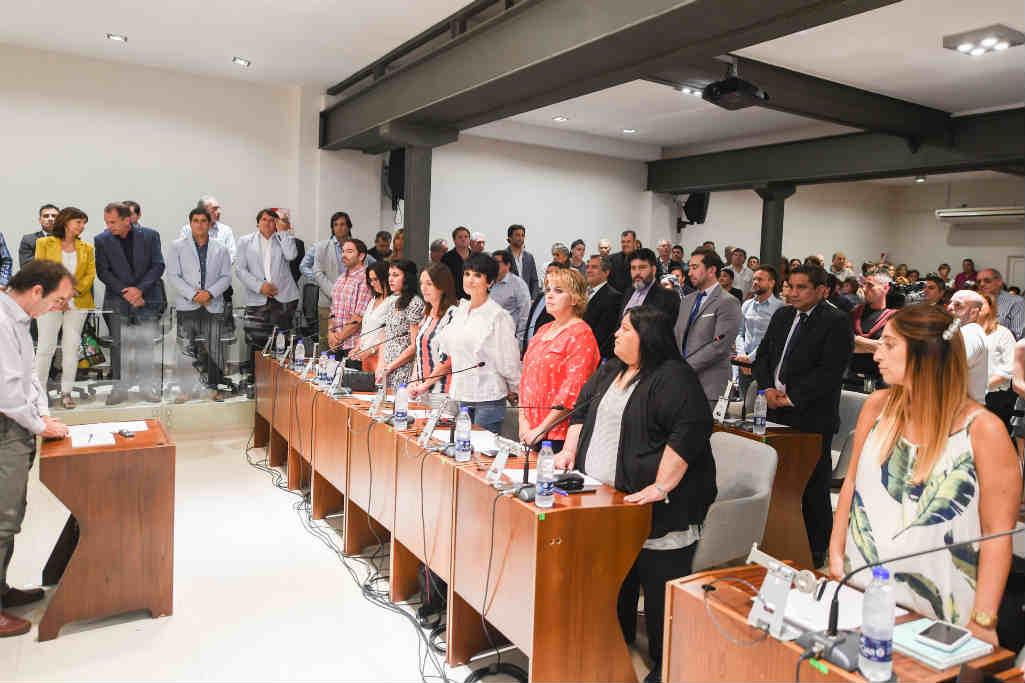 HCD de San Fernando: Juraron los Concejales electos