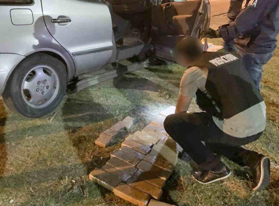 Prefectura detuvo a un sujeto e incautó más de 66 kilos de marihuana en Campana