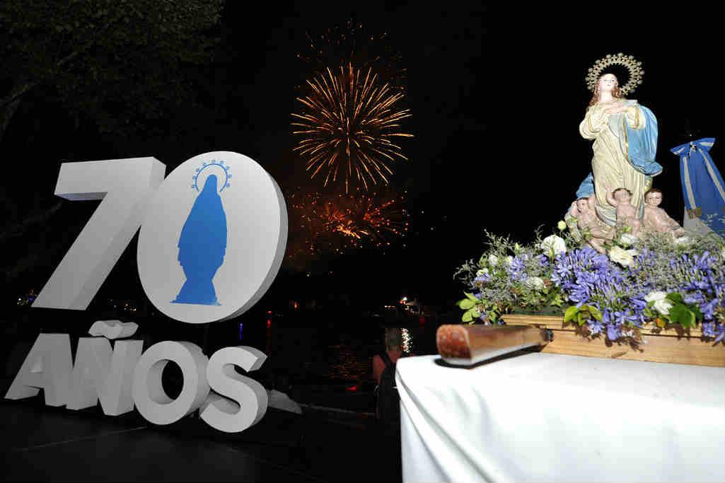 Día de la Virgen: la comunidad de Tigre celebró los 70 años de la Procesión Náutica con una fiesta multitudinaria