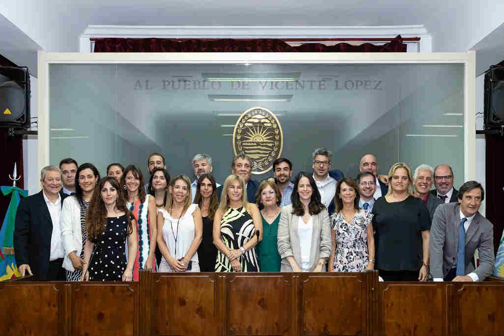Asumieron los nuevos concejales de Vicente López