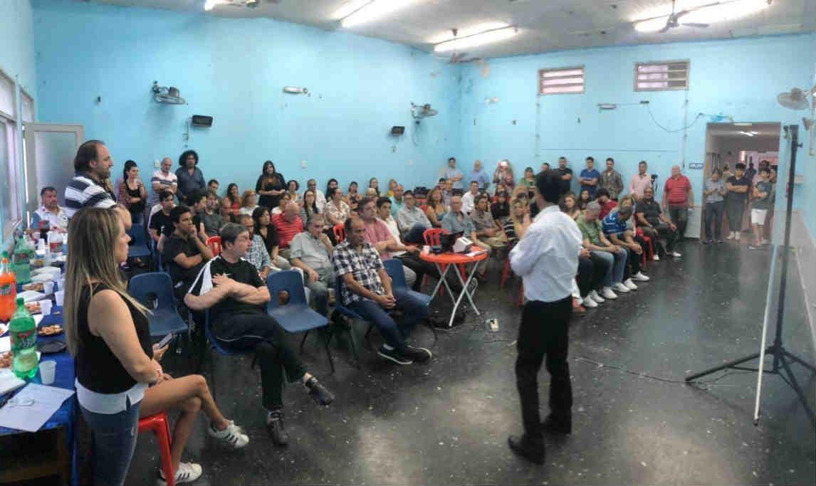 Fernando Coronel presentó la ONG Foro Ciudadano en San Fernando