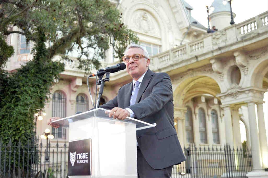 Julio Zamora comenzó su segundo mandato como intendente de Tigre
