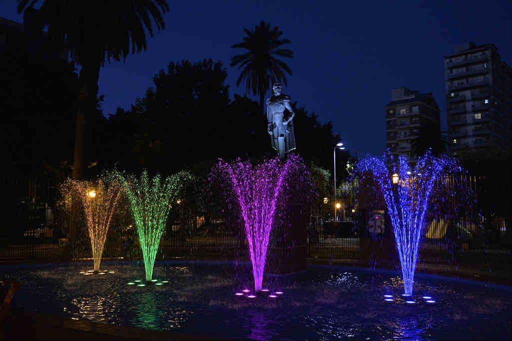 Tigre centro y Rincón de Milberg estrenaron nuevas fuentes