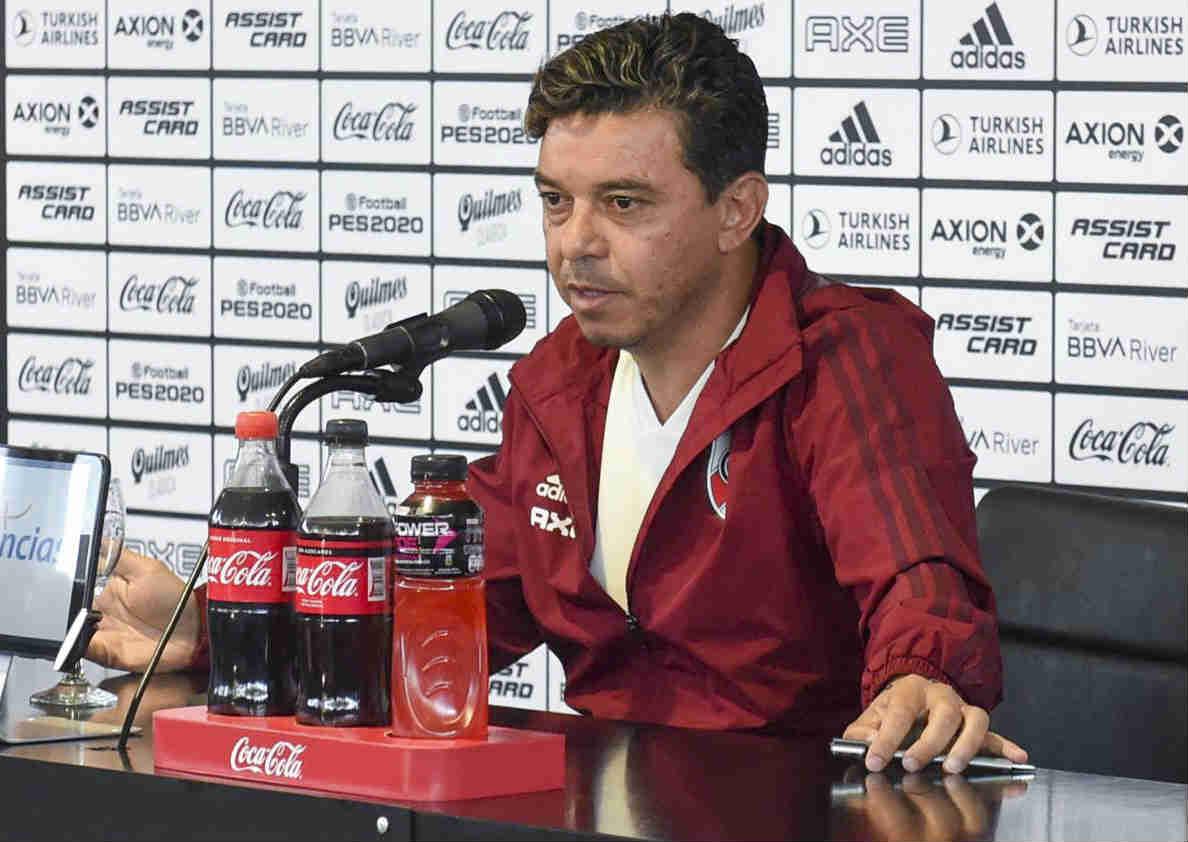 Marcelo Gallardo anunció su continuidad en River en 2020