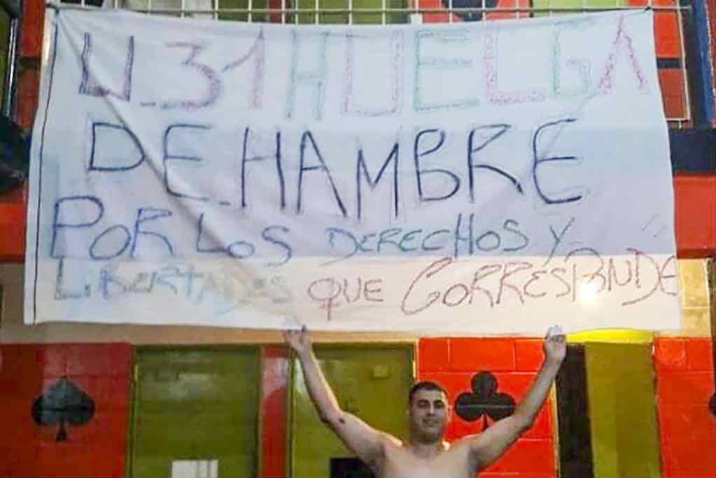 Presos en cárceles bonaerenses hacen huelga de hambre