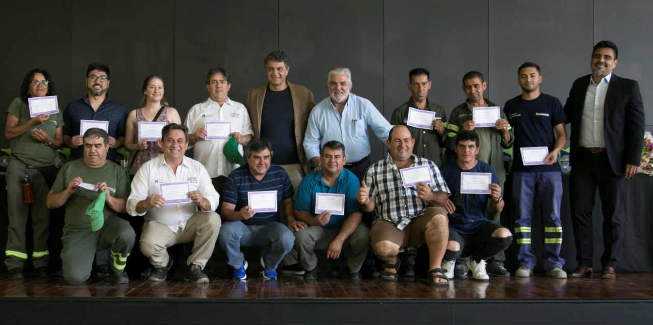 Reconocimiento a empleados municipales de Vicente López