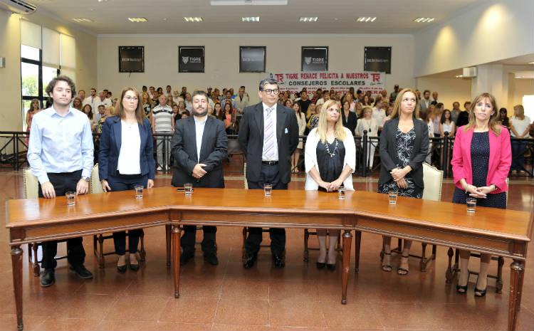 Juraron los nuevos consejeros escolares de Tigre
