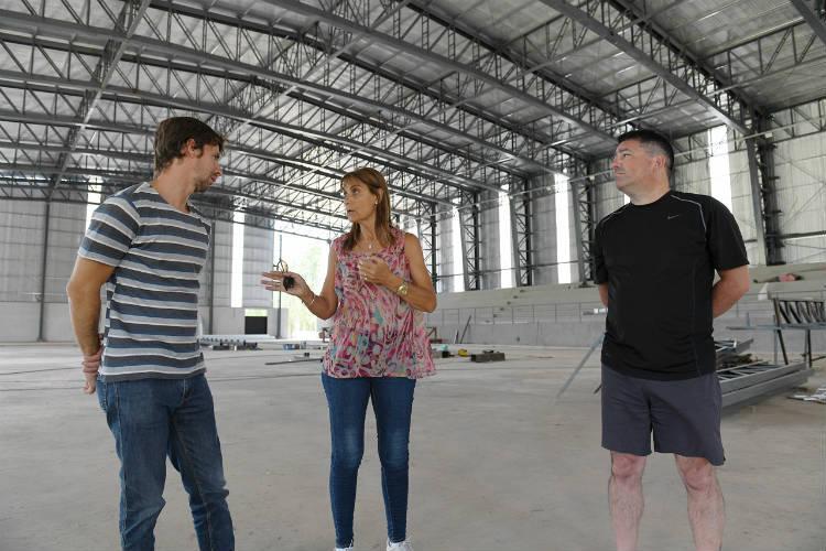 San Fernando avanza con las obras del nuevo Microestadio