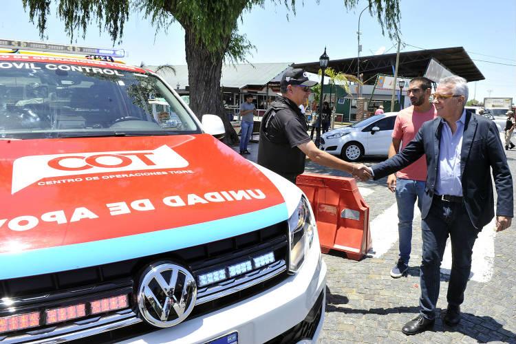 """Julio Zamora lanzó el operativo """"Verano Seguro"""" en Tigre"""