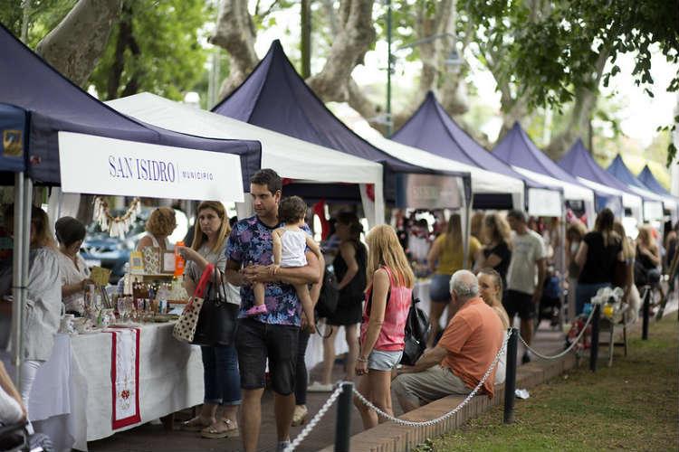 La Feria de Emprendedores de San Isidro tuvo su cierre en Martínez
