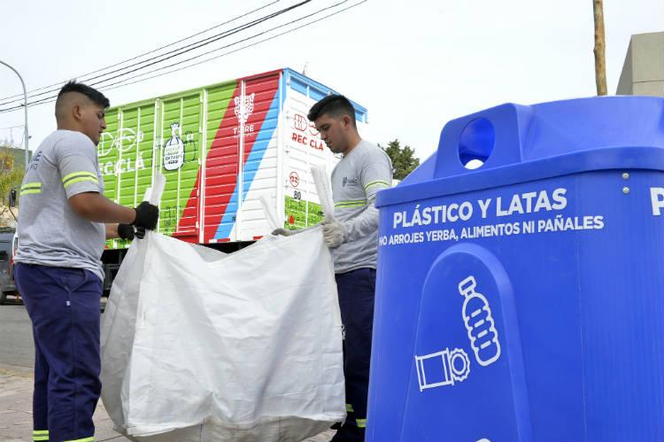 """El programa """"Reciclá"""" sumó a más vecinos de Tigre a su sistema de recolección diferenciada"""