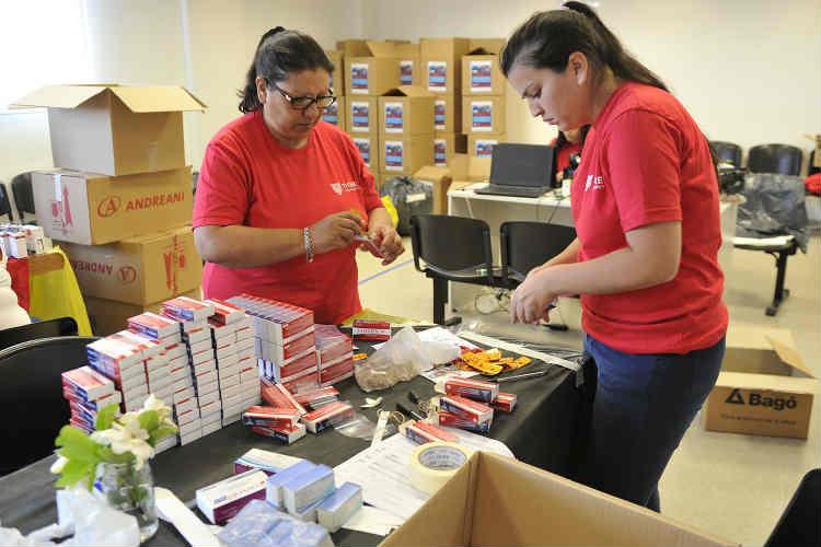 Los vecinos de Tigre se sumaron a la campaña de donación de medicamentos del Municipio