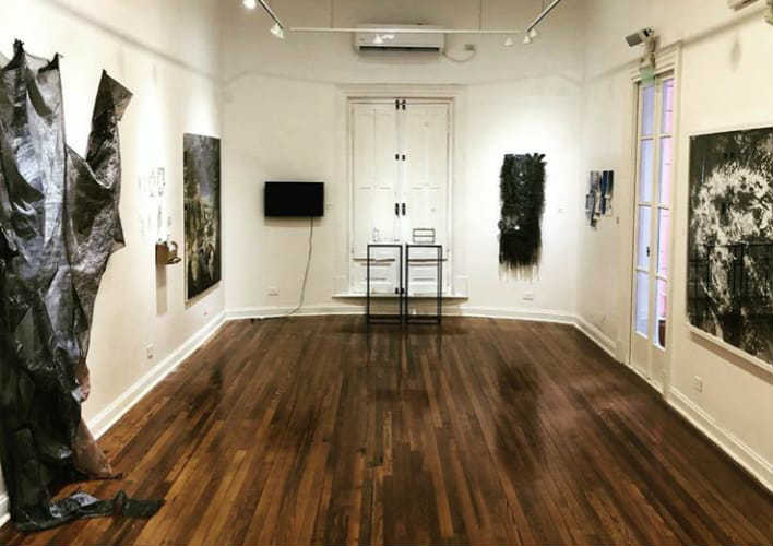 Vicente López inauguró el 50º Salón de Artes Visuales Fernán Félix de Amador