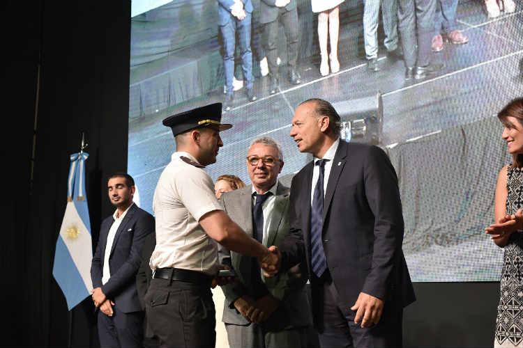 Berni creó el cargo de jefe de policía, del que dependerán todas las fuerzas de la provincia