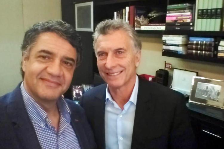 El intendente de Vicente Lopéz se reunió con Mauricio Macri