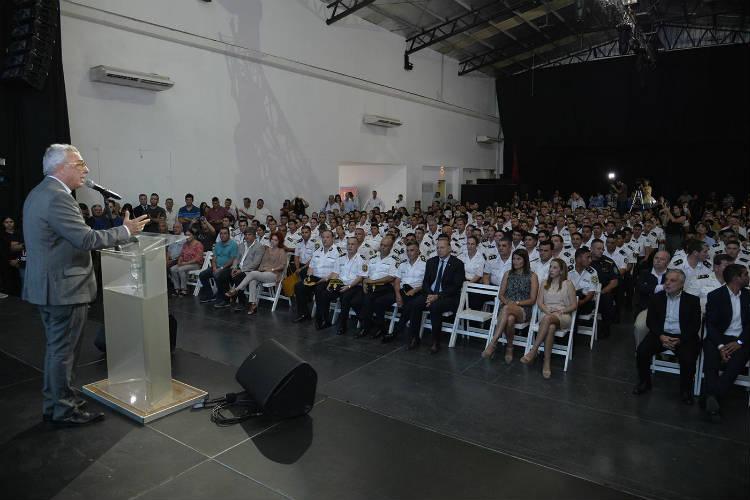 Tigre homenajeó a efectivos de la policía bonaerense por su labor en la protección de la comunidad