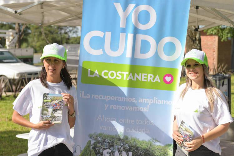"""""""Yo cuido a la Costanera"""": San Fernando lanzó un programa de cuidado medioambiental"""