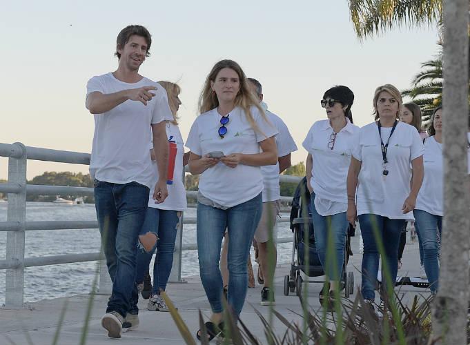 El Intendente Juan Andreotti presentó una iniciativa sobre el cuidado del nuevo espacio verde que durará todo el verano, a través de actividades, juegos y charlas con los vecinos.