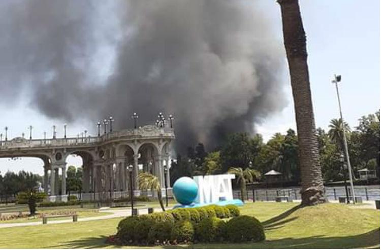 Un incendio afectó al Club Escandinavo de Tigre