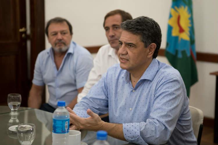 """Jorge Macri: """"Nuestra voluntad sigue siendo la misma, la de darle al Gobierno de la Provincia las herramientas para gobernar"""""""