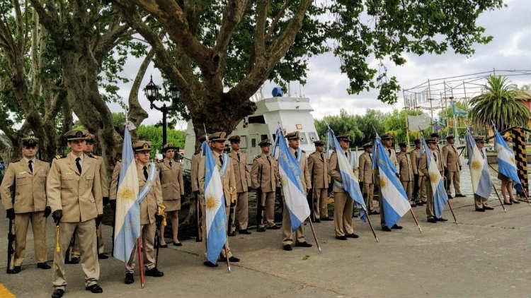 Se realizo cambio de mando en la Prefectura Naval de Tigre y Zona Delta