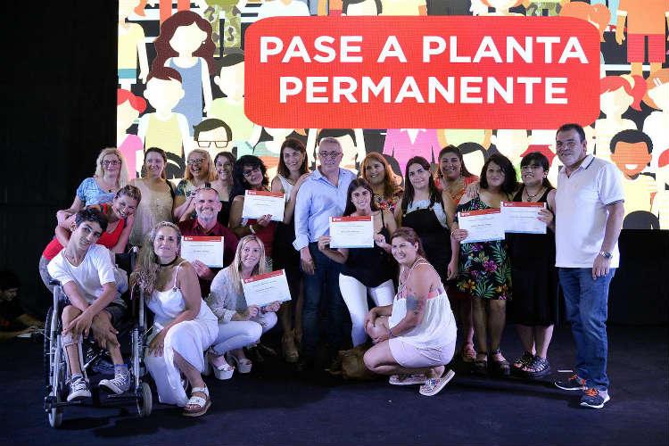 Tigre pasó a planta permanente a 500 empleados municipales