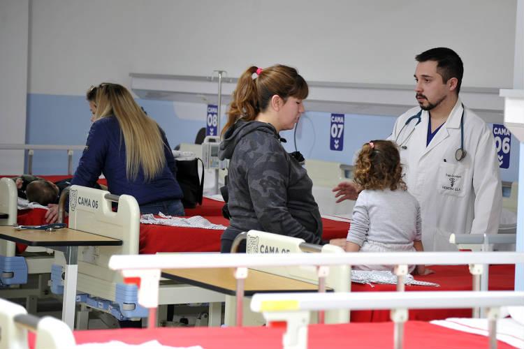 Más de 153.000 vecinos se atendieron en los hospitales municipales de Don Torcuato y Benavídez