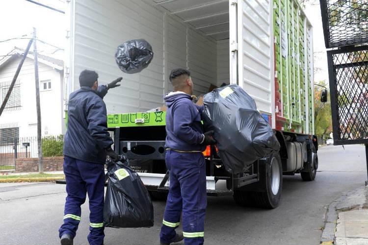 Tigre controla la recolección de residuos en todo el distrito vía GPS
