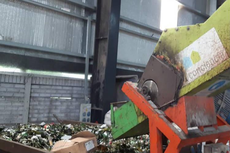 Reciclá Tigre recolectó más de 7.000kg de vidrio durante las últimas fiestas