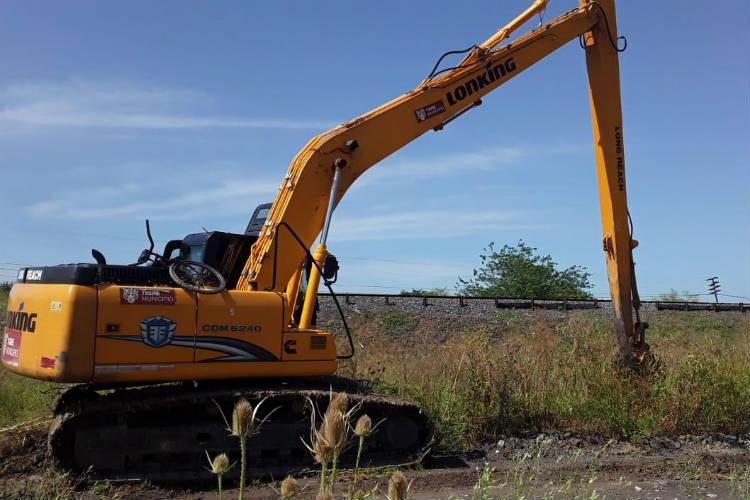 Tigre realiza tareas de limpieza en conductos pluviales de Don Torcuato