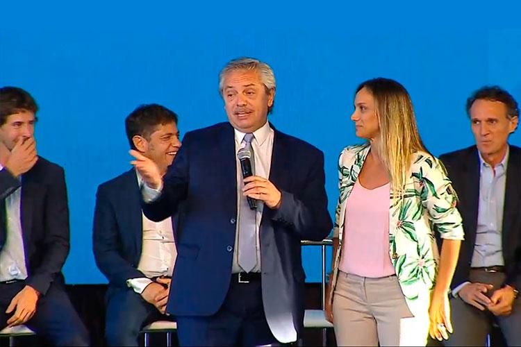 Video: Alberto Fernández visitó San Fernando para presentar el programa Hacer Trabajo