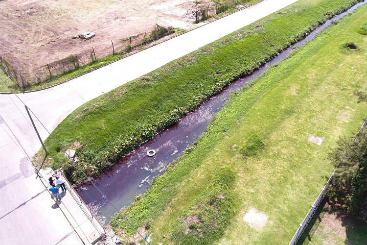 El Municipio de Tigre clausuró una empresa textil por contaminación en el arroyo Darragueira