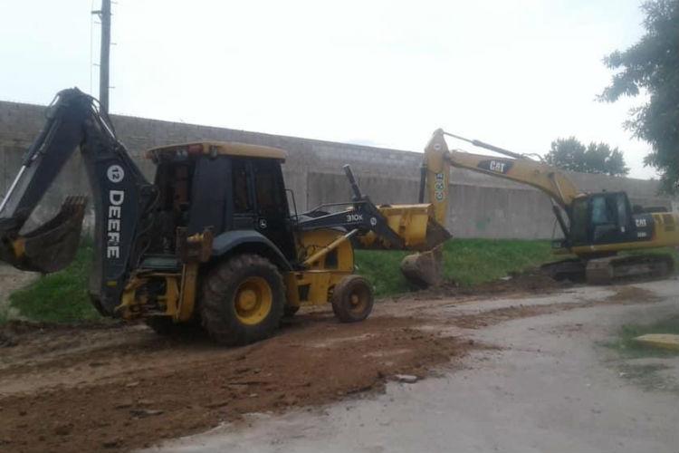 En Don Torcuato, el Municipio comenzó una nueva obra de pavimentación